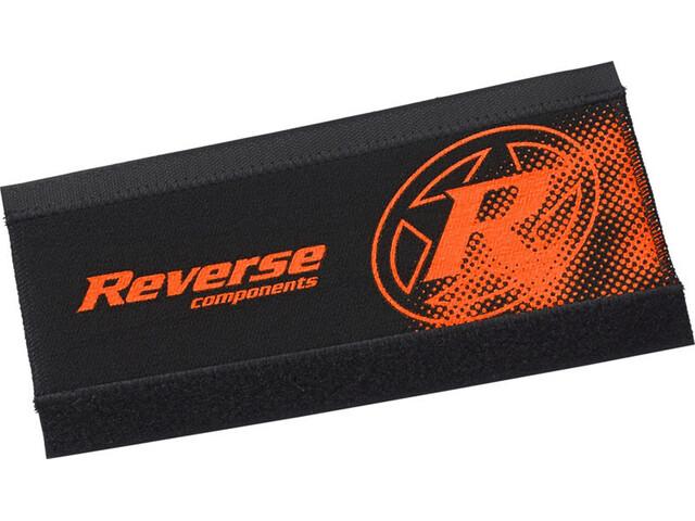 Reverse Neoprenbeskyttelse til kædestræber, black/fox orange
